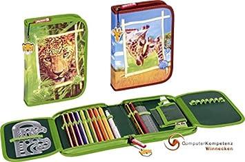 Estuche Escolar - Estuche Tiger o jirafa estuche relleno ...