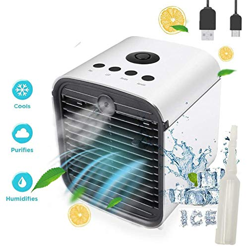 🥇 Nifogo Air Mini Cooler Aire Acondicionado Portátil
