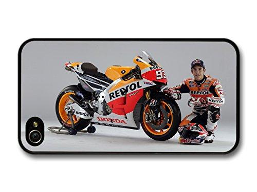 Marc Marquez MotoGP Portrait Driver hülle für iPhone 4 4S