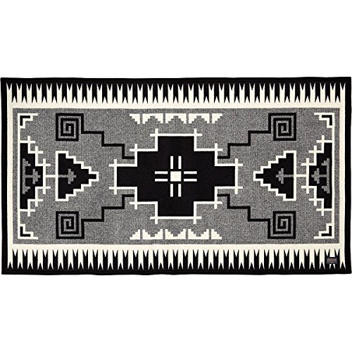 Pendleton - Wool Saddle Blanket, Naskan Black/Ivory