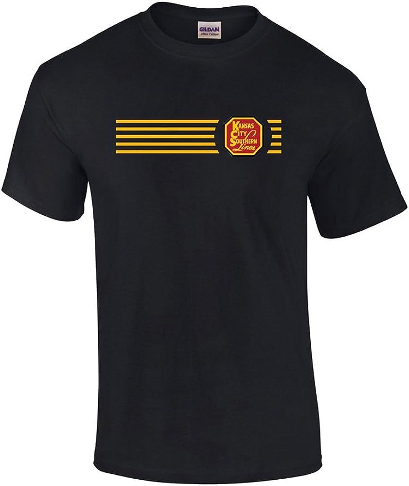 Daylight Sales Kansas City Southern Railway Embroidered Logo Tee [Tee98]