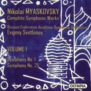 Myaskovsky: Complete Symphonic Works, Volume 1: Symphonies Nos. 1 & 25