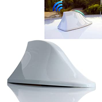 Shark-Antenne Carbon-Effekt Auto-Dachantenne f/ür Radiosignal Tuning Carbon S7S
