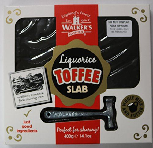 (Walker's Toffee Real Liquorice 400g)