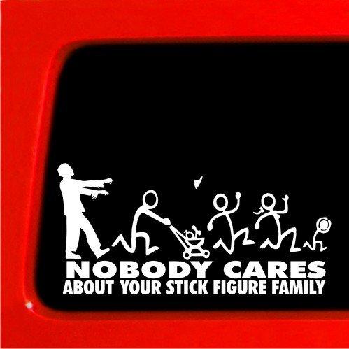zombie family bumper sticker - 4