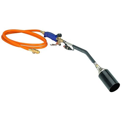 Supershop Push Button Igniter Propane Torch Wand Ice Snow Melter Weed Burner Roofing