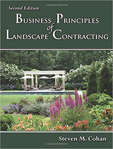 Business Principles Of Landscape Contracting Second Edition