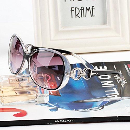 lunettes de soleil des étoiles des lunettes élégant nouveau cycle de lunettes de soleil les femmes les visages coréennetransparent noir (tissu) r3ikHBNde