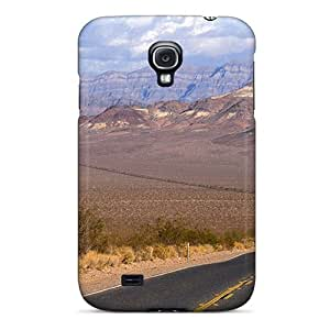 Series Skin Case Cover For Galaxy S4(road Through The Desert)