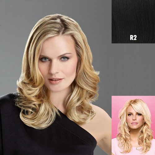Tru2Life Styleable Extensions - 20 Inch Wavy Clip In Extension - R2-Ebony/Black