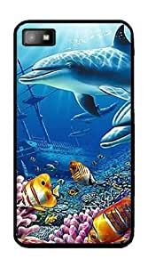 Shipwrecked Dolphins - Case for BlackBerry Z10