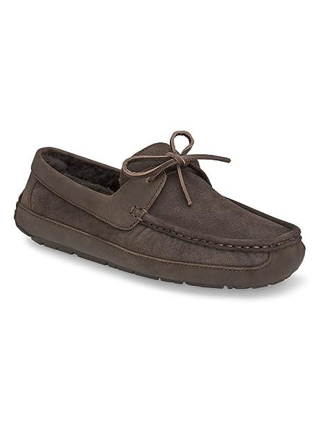 UGG Australia Byron del Hombre Piel Zapato: Amazon.es: Zapatos y complementos