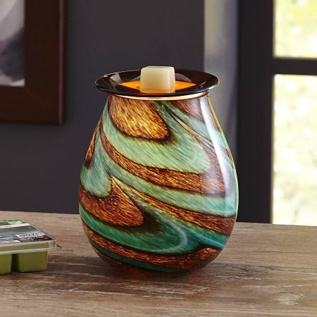 Better Homes and Gardens Tidepool Art Glass Wax Warmer Gift Set by Better Homes & Gardens (Image #1)