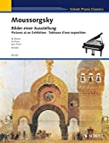 Pictures at an Exhibition: Ten Pieces for Piano Solo (Schott)