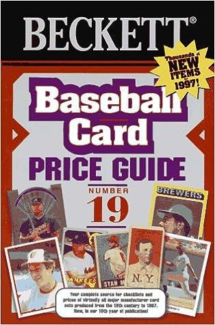 Beckett Baseball Card Price Guide James Beckett