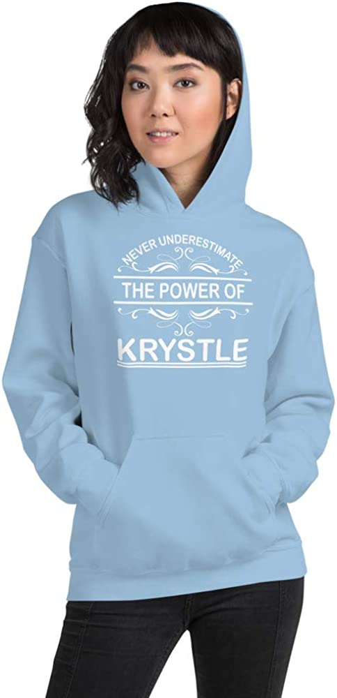 Never Underestimate The Power of Krystle PF