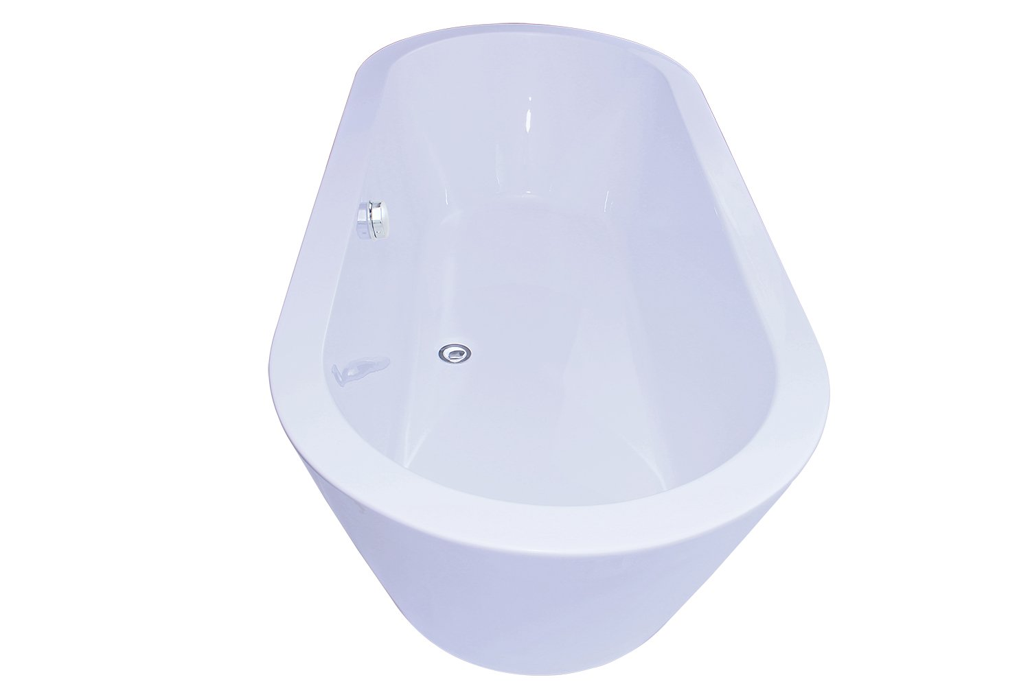 AKDY Bathroom White Color FreeStand Acrylic Bathtub AZ-F224 ...