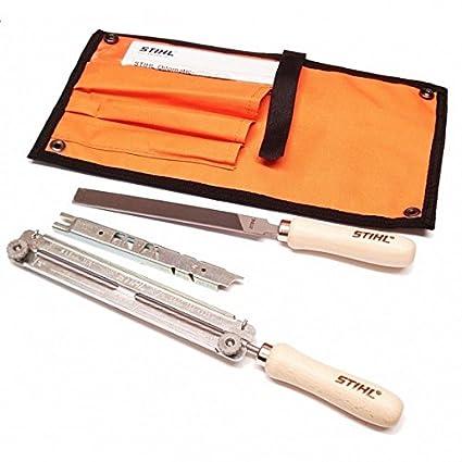 """Motosierra Stihl sharpening//filing Kit 4mm 5//32 /""""de archivos 5605 007 1027"""
