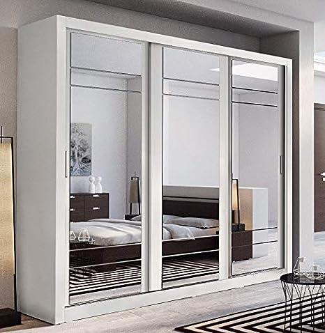 Arthauss, moderno guardaroba con porte scorrevoli a specchio ...