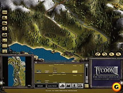Amazon com: Railroad Tycoon 2: Second Century Expansion Pack