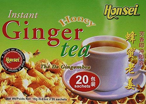 HONSEI INSTANT HONEY GINGER TEA PK2
