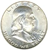 1962 Franklin Silver Half Dollar Brilliant Uncirculated
