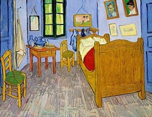 Van Goghs Bedroom Arles 1889 Poster Print by Vincent Van Gogh
