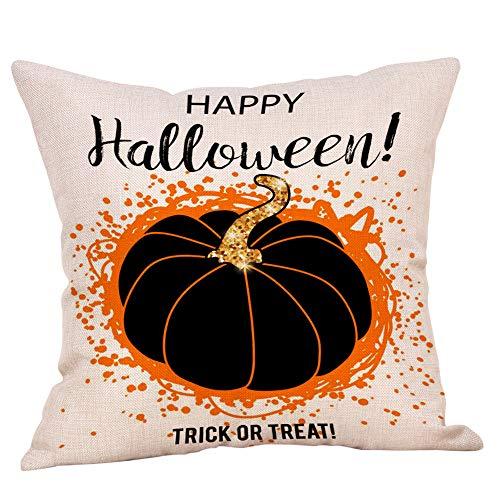 Halloween Pillow Case KIKOY Comic Cute Pumpkin Home Decor Cushion Cover