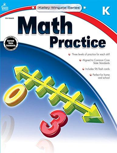 Math Practice, Grade K (Kelley Wingate)