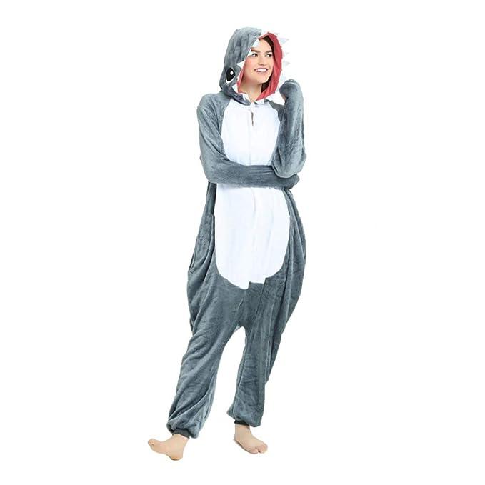 Amazon.com: Afoxsos - Disfraz de tiburón unisex para adulto ...