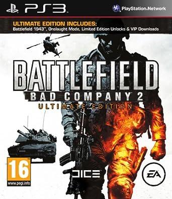 Amazon Com Battlefield Bad Company 2 Ultimate Edition Ps3
