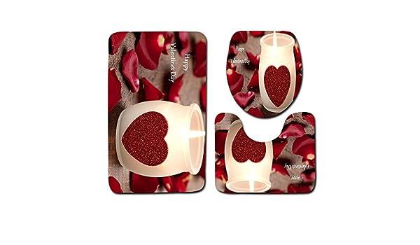 Rovinci 2 UNIDS Patrón de Día de San Valentín Antideslizante ...