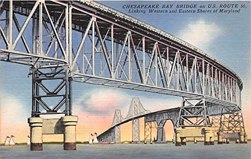 Chesapeake Bay, Maryland Postcard from Old Postcards