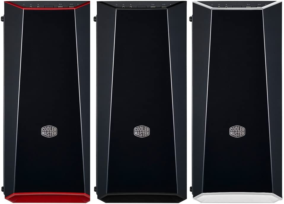 3 Customize Color Trims/ And Transparent Acrylic Side Panel Cooler Master MCW-L3B3-KANN-01 MasterBox Lite 3.1 Matx Tower w// Front Dark Mirror Panel
