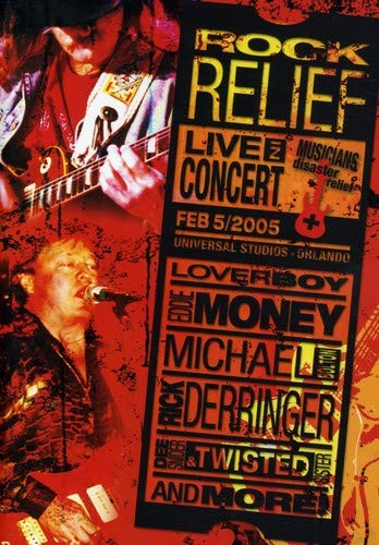 Rock Relief : Live In Concert (Eddie Money Dvd)