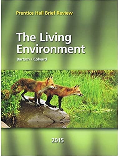 Gentil 2015 Prentice Hall Brief Review The Living Environments: 9780133315219:  Amazon.com: Books
