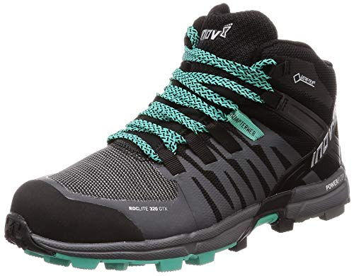 万一に備えて適応するうるさいInov - 8レディースRoclite 320 GTX Trail Running Boot – ブラック/グレー/ティール – 000718-bkgytl-m-01