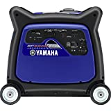Yamaha EF6300iSDE, 5500 Running Watts/6300 Starting Watts, Gas Powered Portable Inverter, CARB Compliant