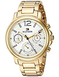 Tommy Hilfiger Women's 1781742 Claudia Analog Display Quartz Gold Watch