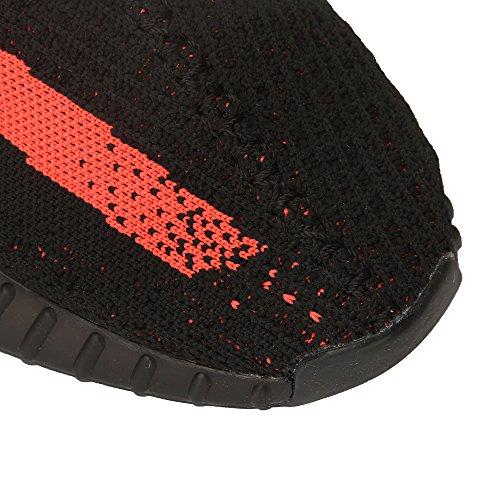 Baskets de Chaussures légères pour Femmes Noir Levage Orange Course et Respirantes de Hojert pXqHwrnp