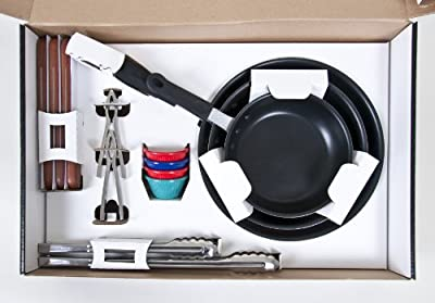 Clipper CLIQ1 17-Piece Kitchen Starter Cookware Gift Set