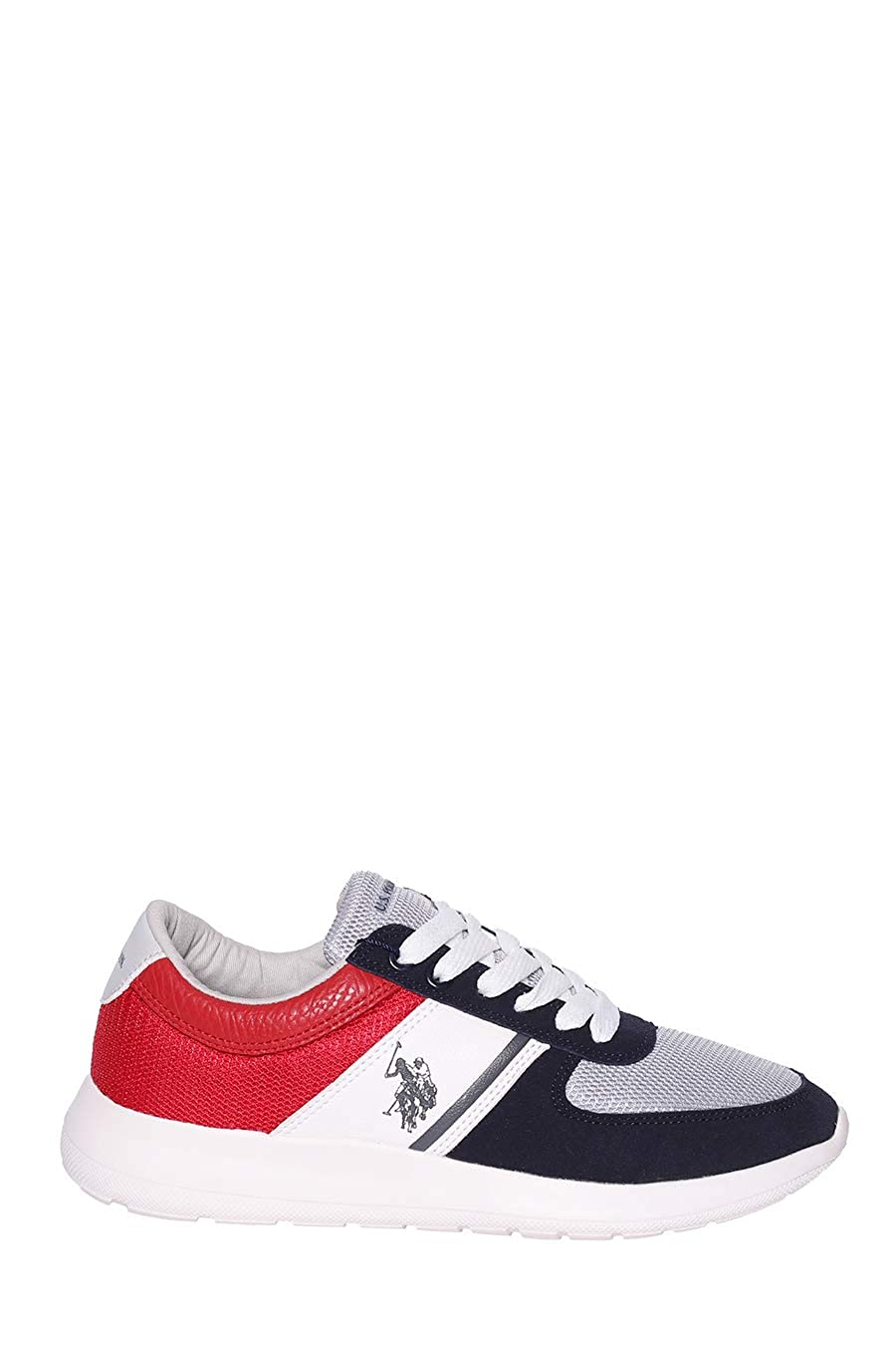 - U.S. POLO ASSN DILLIER Navy-RED FAREL4027S9 MY1 Men's Trainers