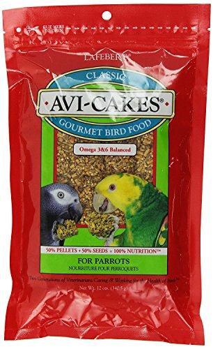Avi Cakes Food - Lafeber's Avi-Cakes for Parrots 12 oz. package