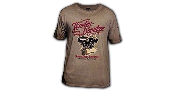 Eagle Ride Mens Black Long-Sleeve Eagle Graphic T-Shirt HARLEY-DAVIDSON Military Kadena Air Base