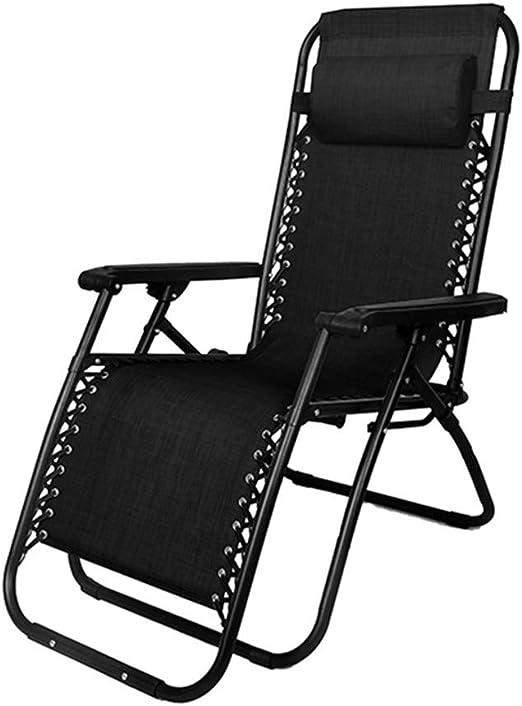 Chair Tumbona Plegable Tumbona Jardin Exterior con colchoneta Tumbona Playa Plegable Ligera,Jardín Mecedora Tumbona ergonómica, Ideal para una Silla de salón,114 * 65cm: Amazon.es: Hogar