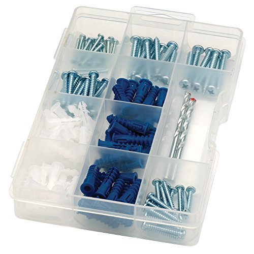 ARROW 160455 Drywall Drill Bit, Screw and Anchor - Wall Mounting Kit