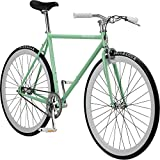 Pure Fix Original Fixed Gear Single Speed Bicycle, Victor Celeste Green/Ghost White, 58cm/Large