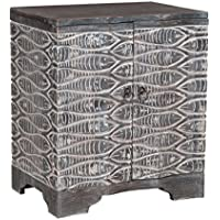 GUILD MASTER 642005 Waterfront Harmony Night Stand, Gray