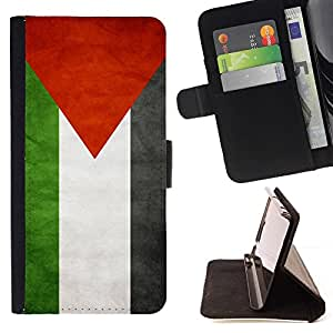 Momo Phone Case / Flip Funda de Cuero Case Cover - Nacional bandera de la nación País Palestina; - Sony Xperia Z5 Compact Z5 Mini (Not for Normal Z5)