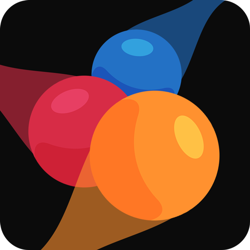 Line Puzzle Star - Draw Fill Color in One Ball Run, Best New Free Game